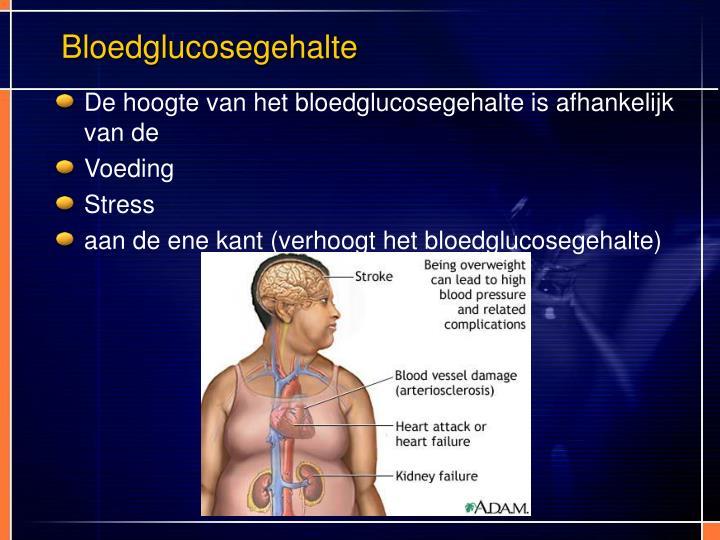 Bloedglucosegehalte