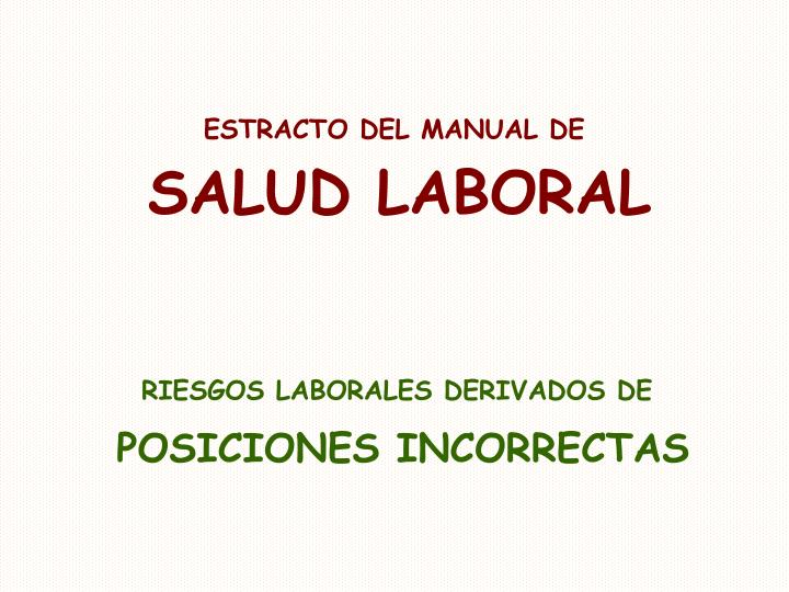 ESTRACTO DEL MANUAL DE