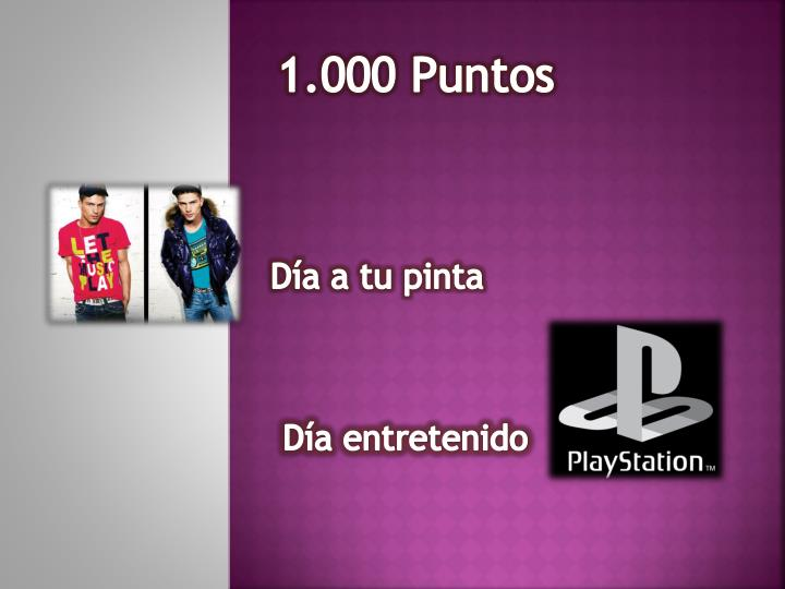 1.000 Puntos
