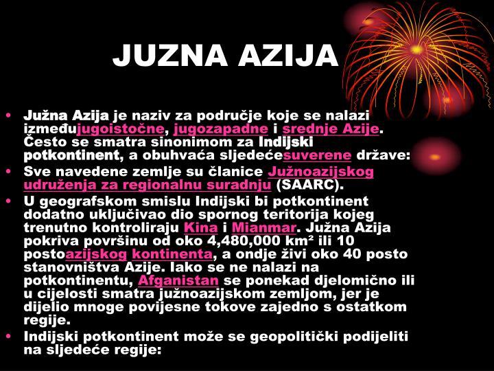 JUZNA AZIJA