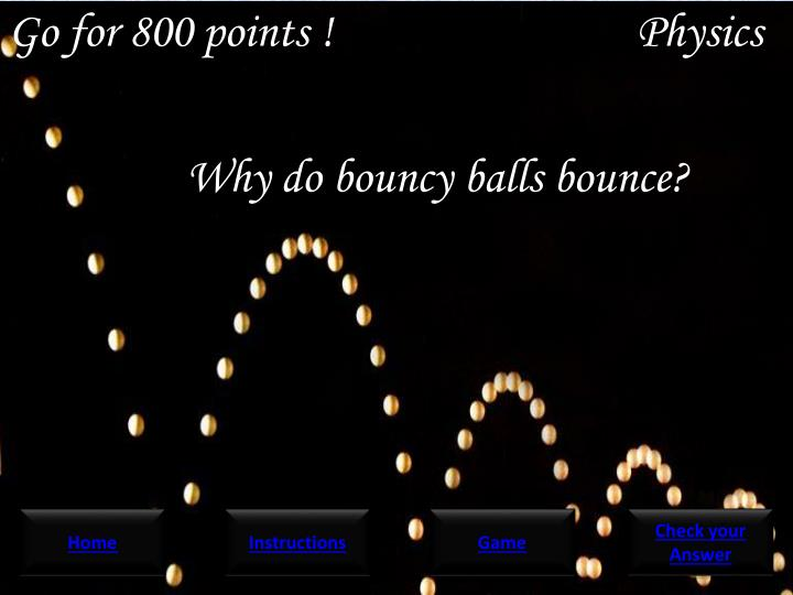 Go for 800 points !