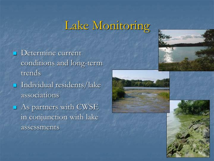 Lake Monitoring
