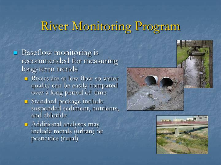 River Monitoring Program