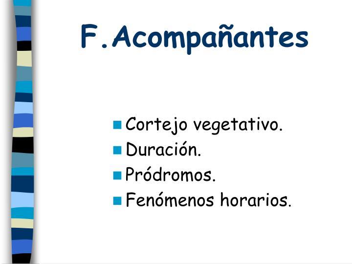 F.Acompañantes
