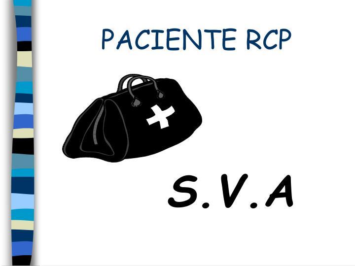 PACIENTE RCP