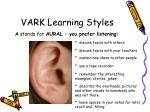 vark learning styles1