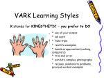 vark learning styles3