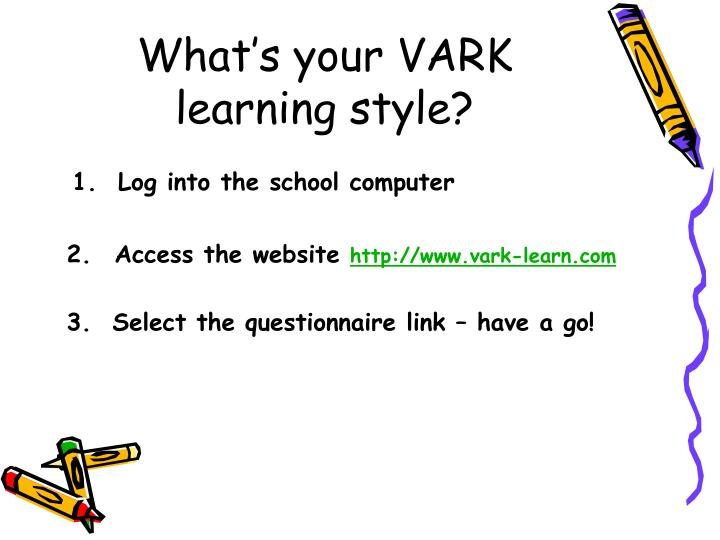 What's your VARK learning style?