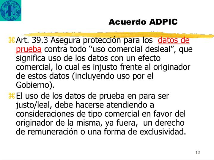 Acuerdo ADPIC