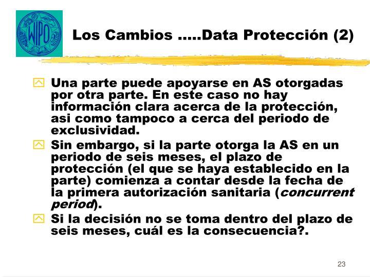Los Cambios …..Data Protección (2)