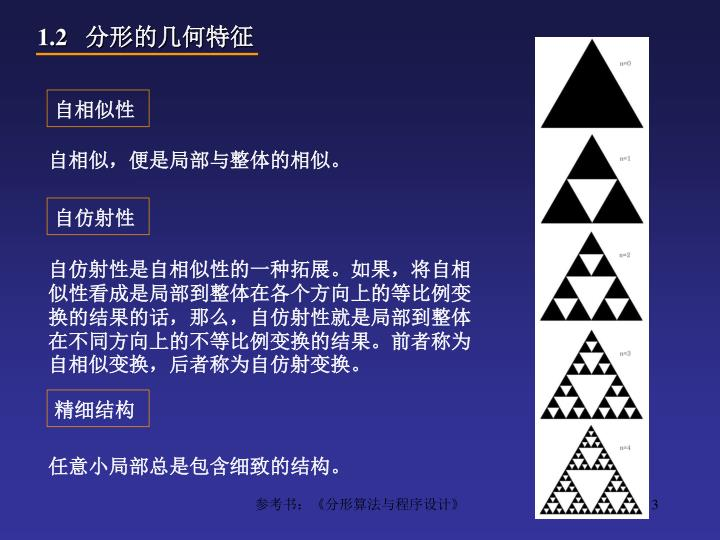 分形的几何特征