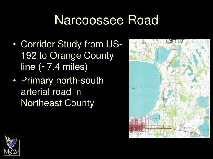 Narcoossee Road