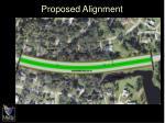 proposed alignment1