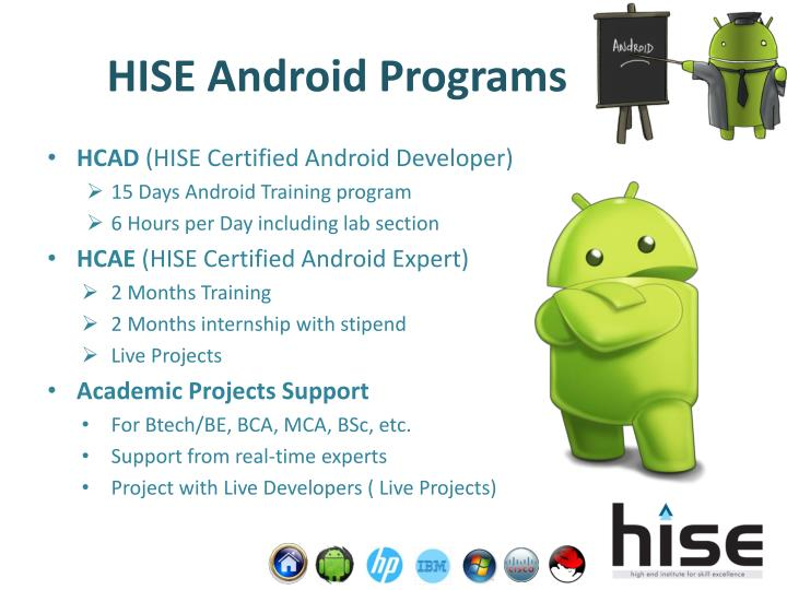 HISE Android Programs
