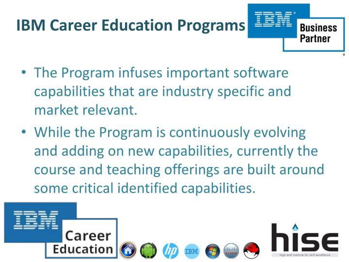 IBM Career Education