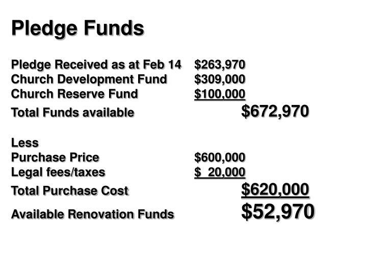 Pledge Funds