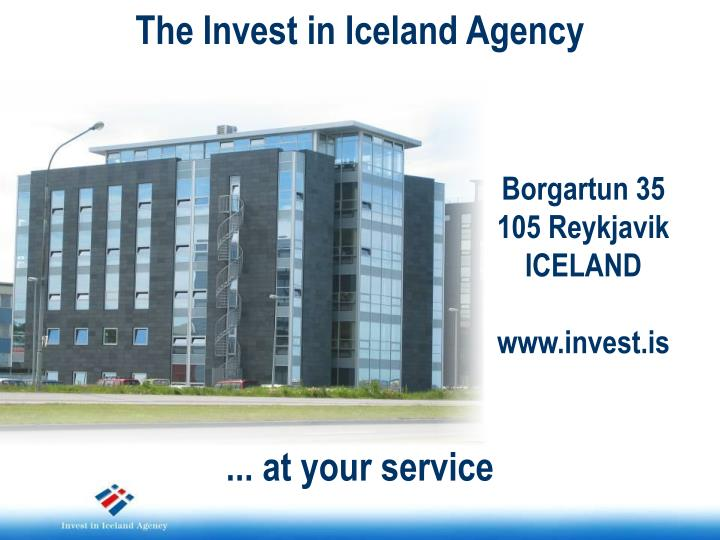 The Invest in Iceland Agency