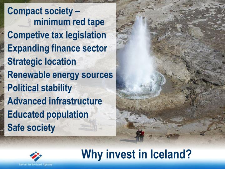Why invest in Iceland?
