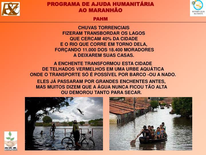 CHUVAS TORRENCIAIS