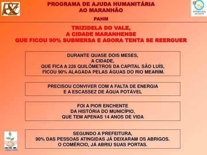 TRIZIDELA DO VALE,