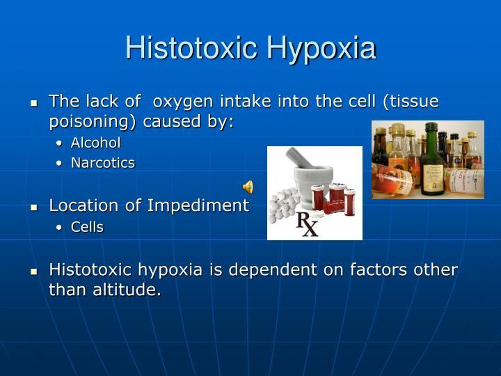 Histotoxic Hypoxia