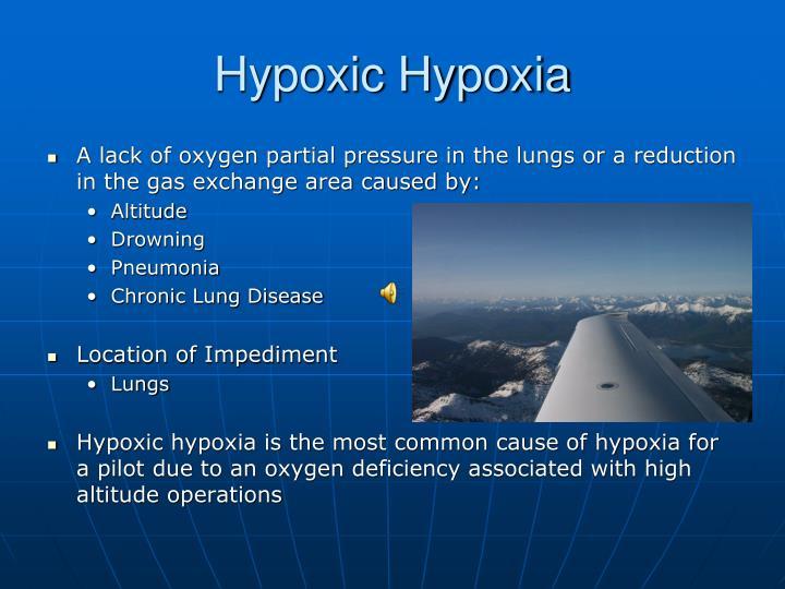 Hypoxic Hypoxia