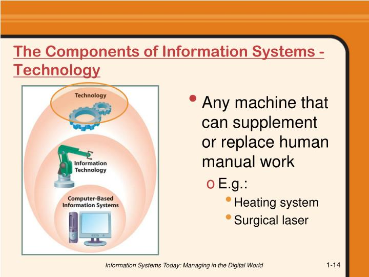 The Components of Information Systems - Technology