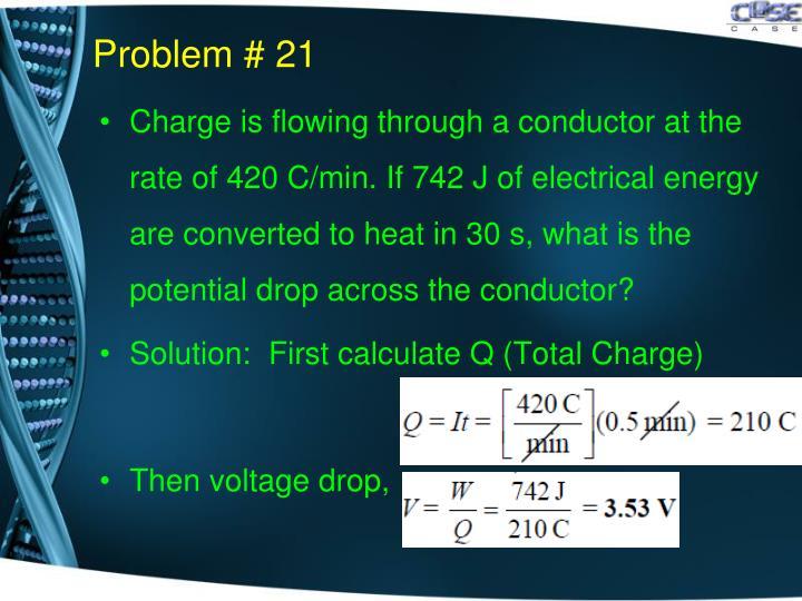 Problem # 21