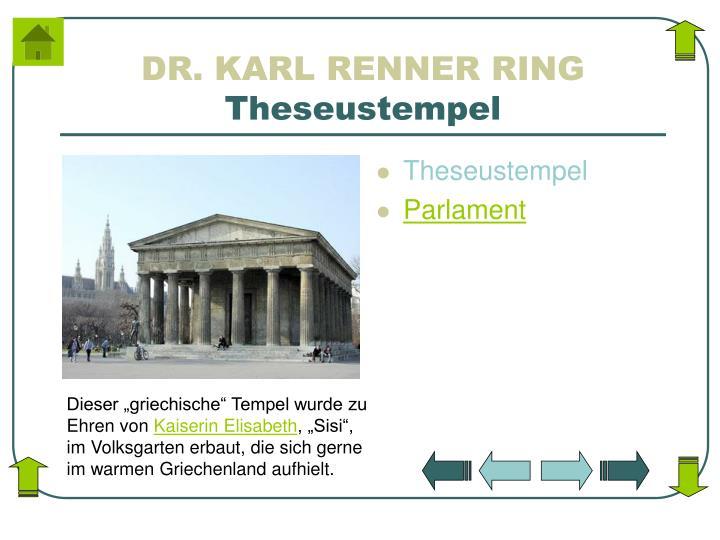 DR. KARL RENNER RING