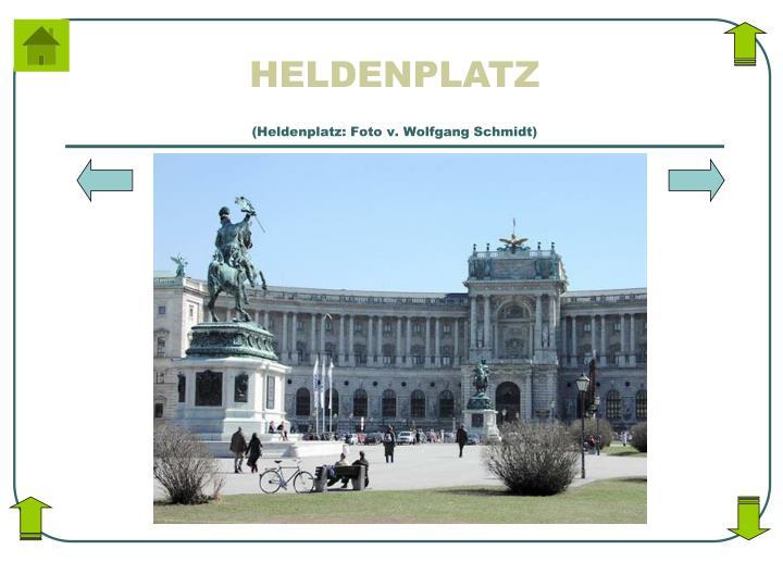 (Heldenplatz: Foto v. Wolfgang Schmidt)