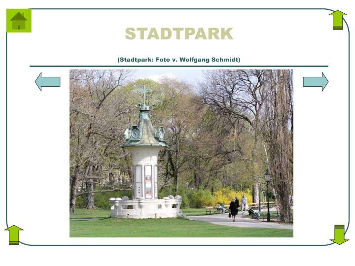 (Stadtpark: Foto v. Wolfgang Schmidt)