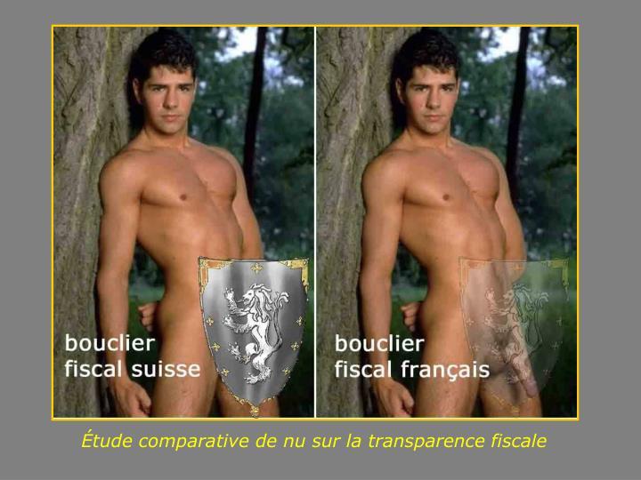 Étude comparative de nu sur la transparence fiscale