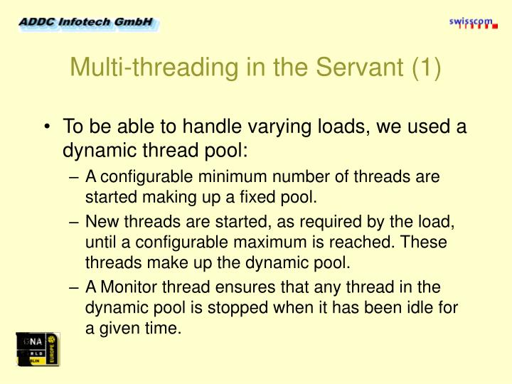 Multi-threading in the Servant (1)