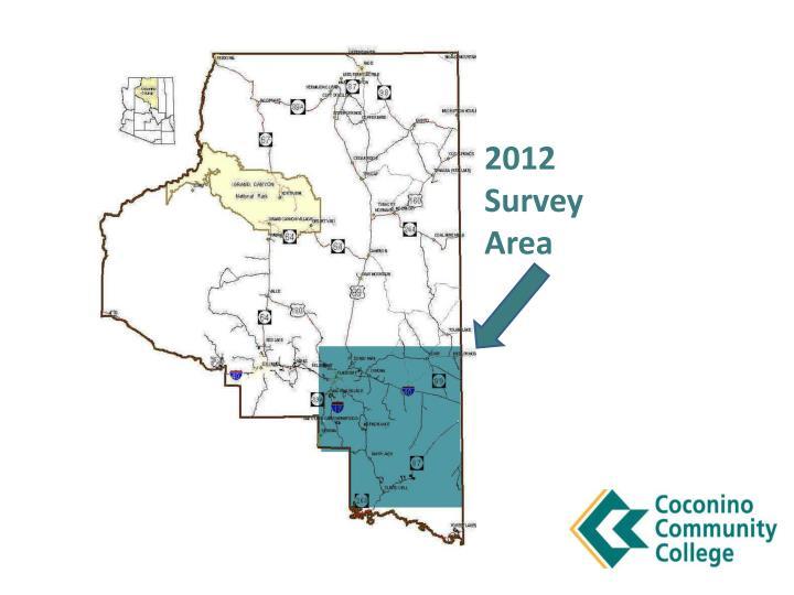 2012 Survey Area