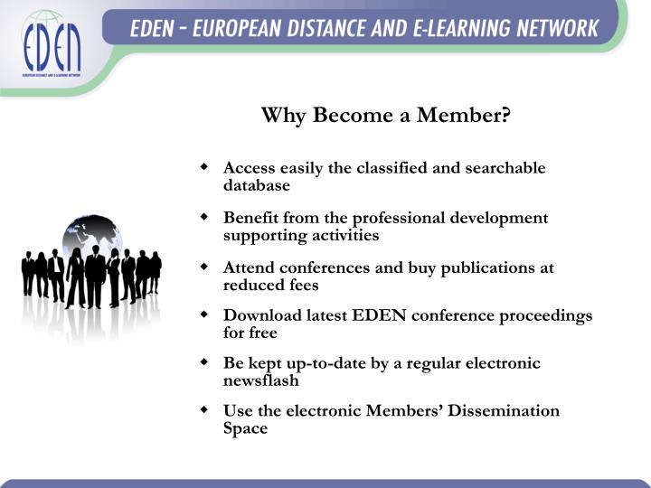 Why Become a Member?
