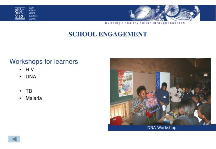 SCHOOL ENGAGEMENT