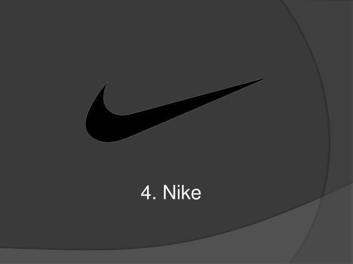 4. Nike