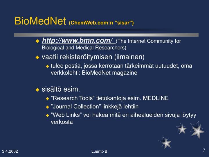 BioMedNet