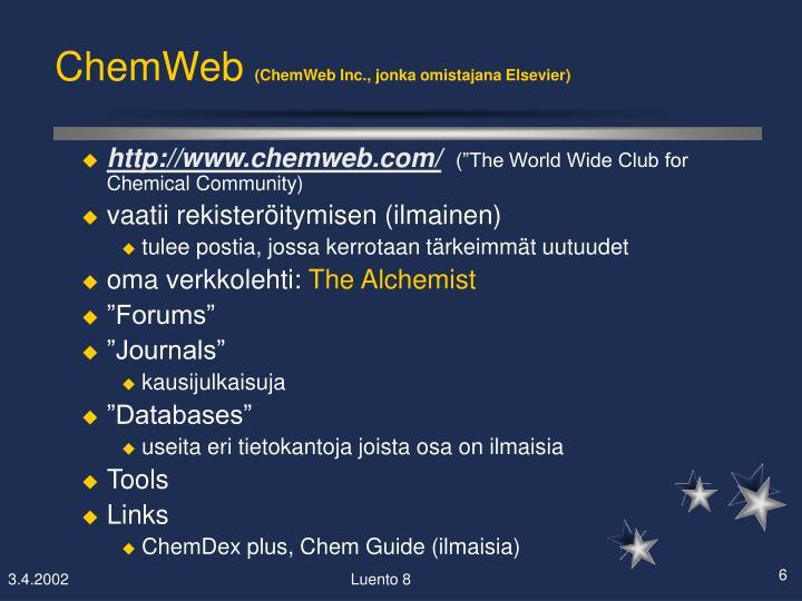 ChemWeb
