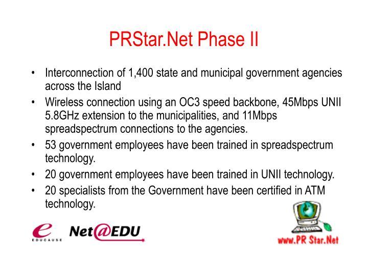 PRStar.Net Phase II