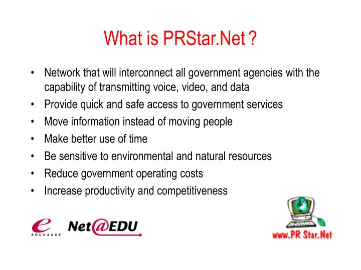 What is PRStar.Net?