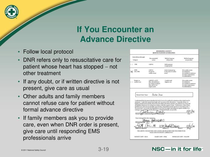 If You Encounter an