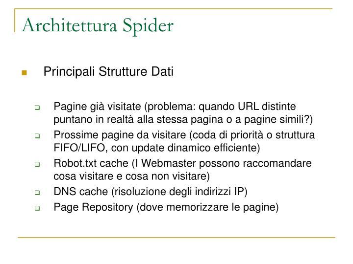 Architettura Spider