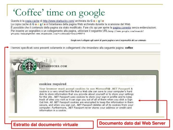 Documento dato dal Web Server
