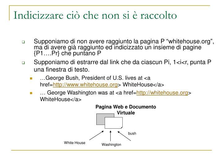 Pagina Web e Documento Virtuale