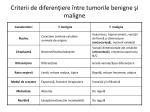 criterii de diferen iere ntre tumorile benigne i maligne