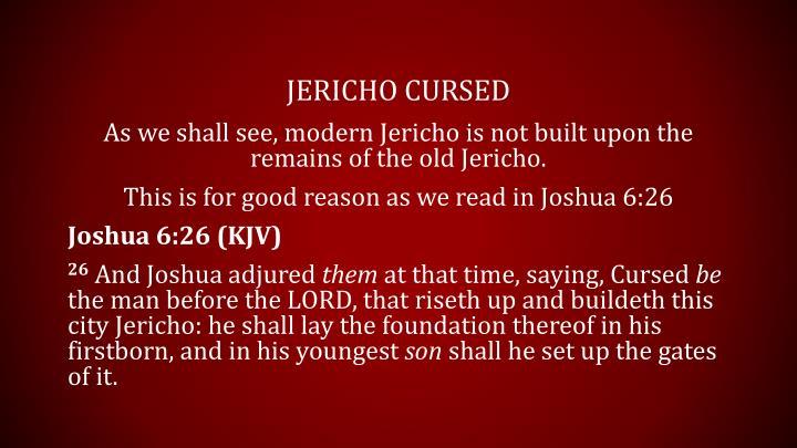 Jericho Cursed
