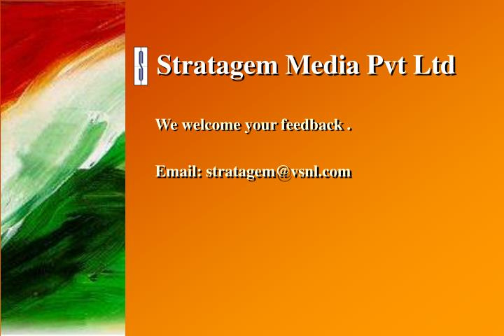 Stratagem Media Pvt Ltd