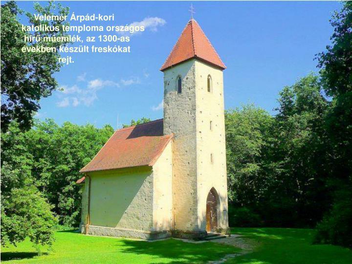 Velemér Árpád-kori
