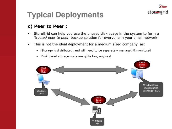 Client Server Mode